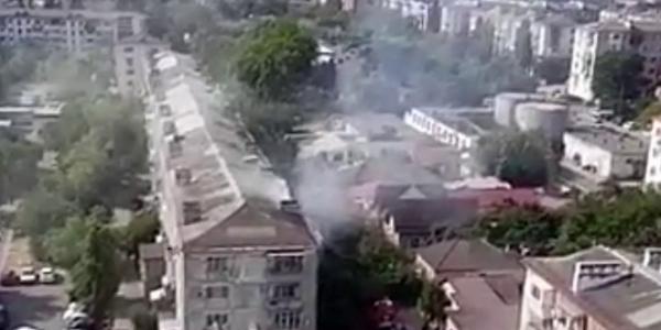 В Новороссийске из-за пожара в многоэтажке эвакуировали девять человек