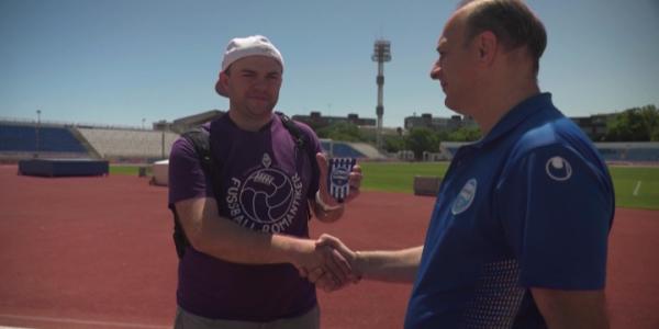 Новороссийский стадион «Черноморец» попал в коллекцию блогера из Москвы