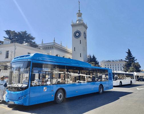 В Сочи изменится схема движения нескольких автобусов