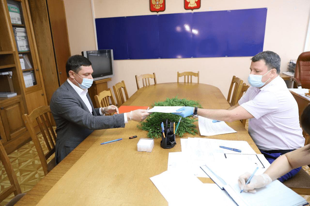 Первышов подал документы на выдвижение в качестве депутата Госдумы