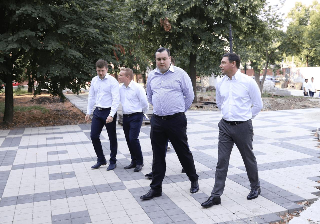 Ко Дню города в Краснодаре завершат благоустройство четырех зеленых зон