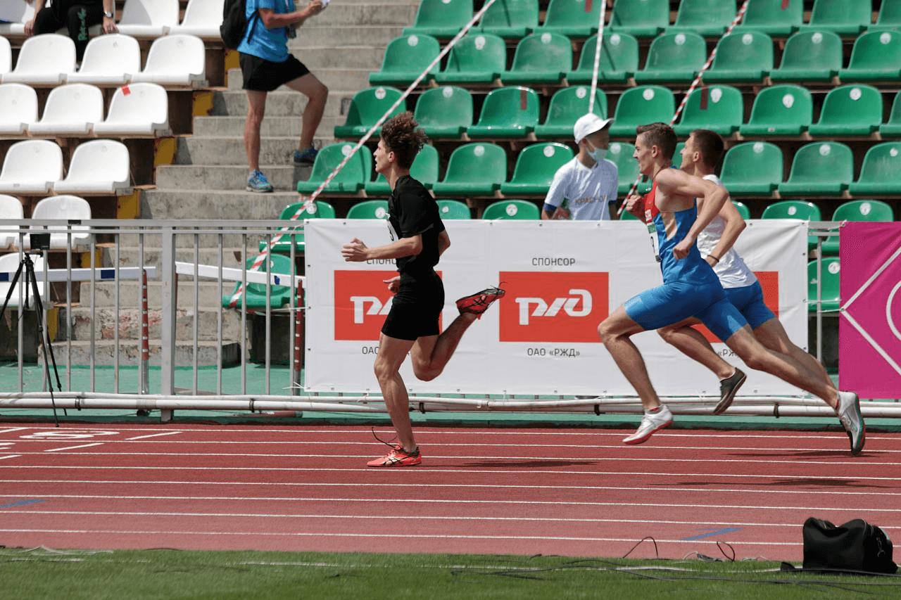 Сборная края по легкой атлетике U18 впервые выиграла золото первенства России