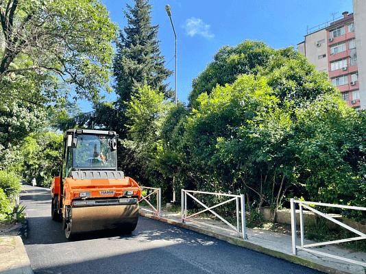 В Сочи отремонтировали 94% участков трасс в рамках дорожного нацпроекта