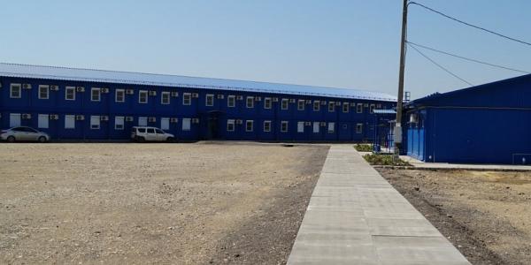 Для строителей Дальнего западного обхода Краснодара открыли общежитие и столовую