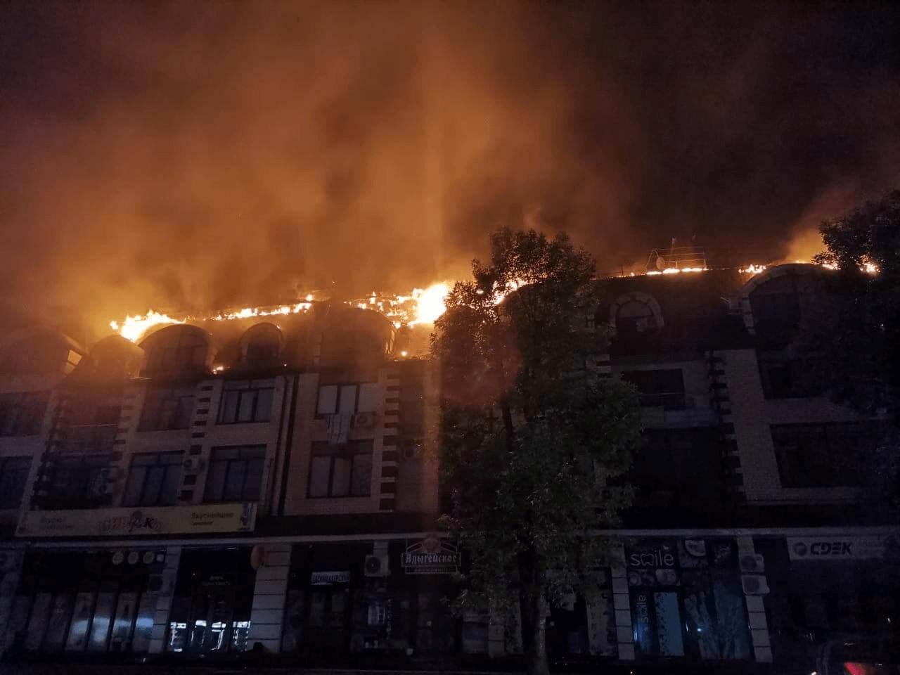 Пострадавшим при пожаре в Горячем Ключе выплатили около 3 млн рублей