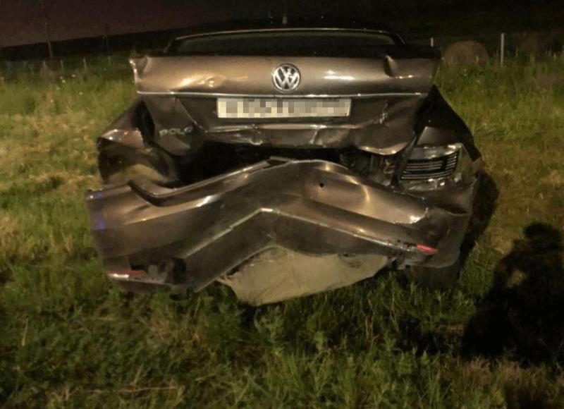Житель Кубани устроил ДТП на трассе в Адыгее, въехав в стоящие на обочине машины