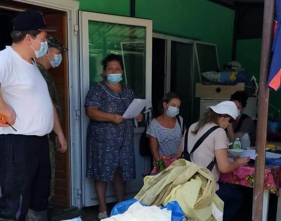 В Туапсинском районе в двух поселениях закончили расчистку после подтопления