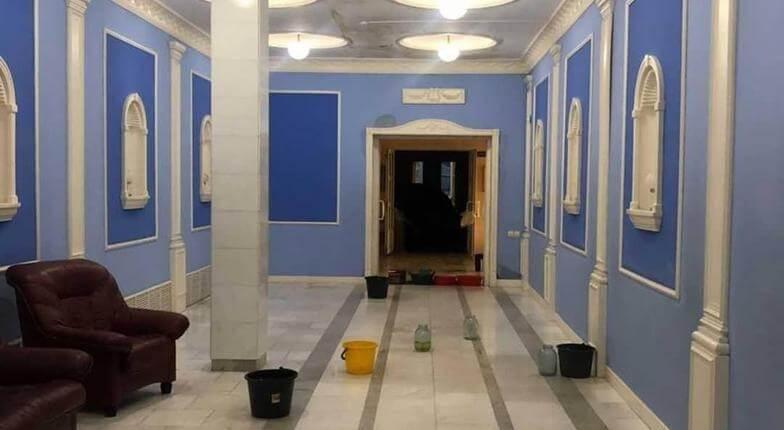 В Новороссийске после дождей на капремонт пришлось закрыть ЗАГС