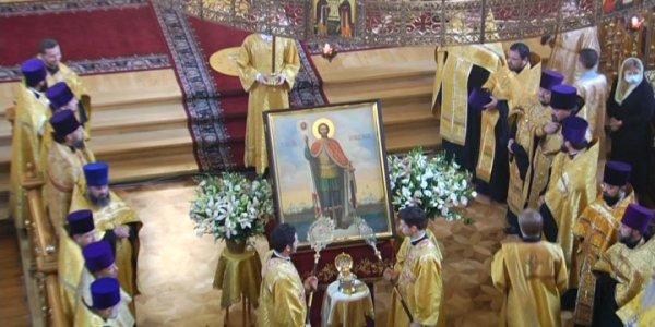 Мощи Александра Невского пробудут в Краснодаре до 17 июля