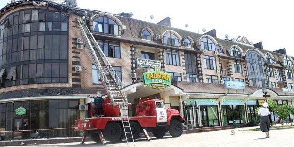 Восстановлением горевшего дома в Горячем Ключе займется застройщик ЖК