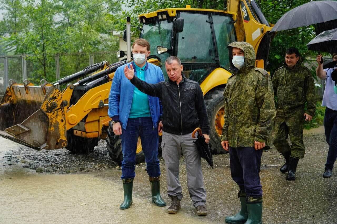 В мэрии Сочи опровергли информацию о проведенной эвакуации в поселке Кепша