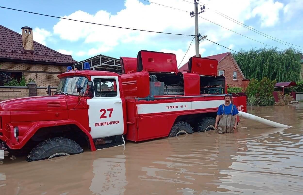 В Северском районе к 10 июля вывезут весь оставшийся после наводнения мусор
