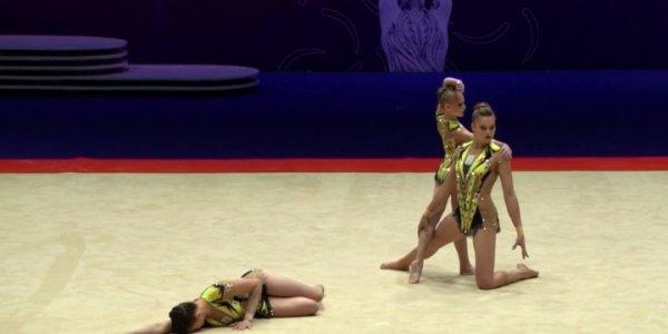 Кубанские акробатки выиграли чемпионат мира