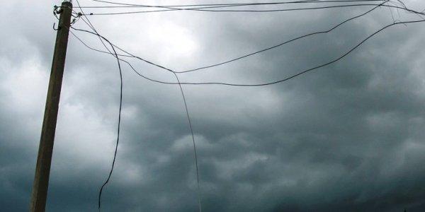 Накрывший Черноморское побережье штормовой фронт дошел до Туапсинского района