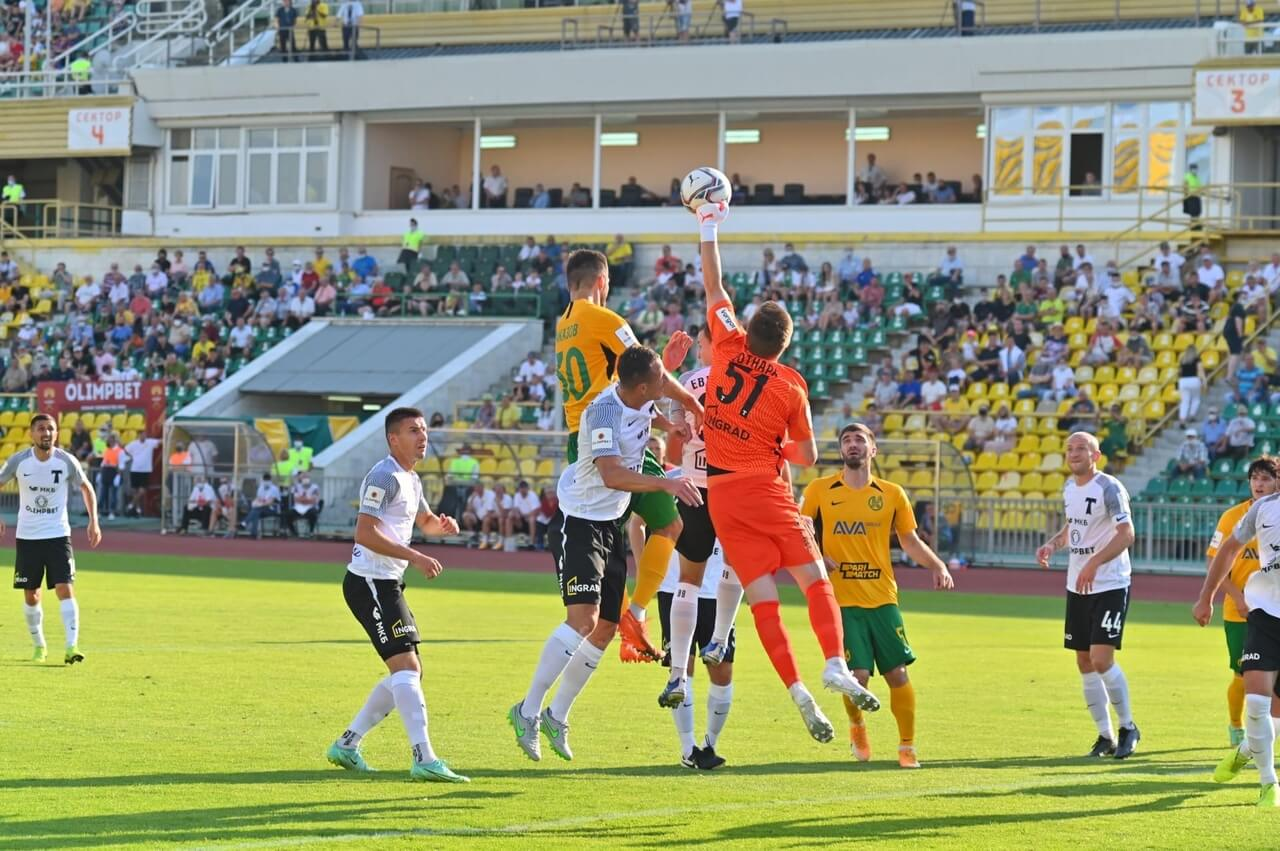 ФК «Кубань» проиграл «Торпедо» в матче ФНЛ
