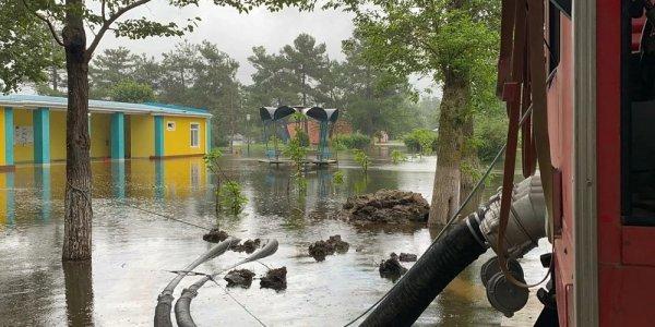 МЧС: действие циклона на Кубани прогнозируется до конца суток 15 августа