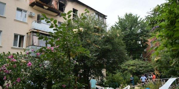 В Краснодаре снимут крышу над 2 квартирами в пострадавшем от хлопка газа доме