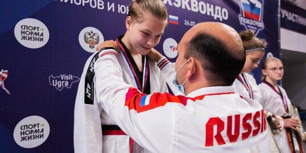 Кубанские тхэквондисты завоевали три золота, серебро и бронзу первенства России