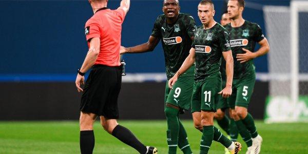 Комиссия РФС: VAR ошибочно отменила гол «Краснодара» в игре против «Зенита»