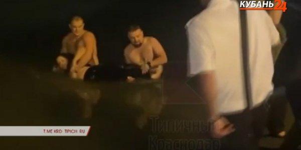 В Краснодаре мужчины спасли девушку, которая чуть не утонула в реке Кубань