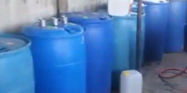 В Сочи полицейские нашли завод по изготовлению поддельного вина