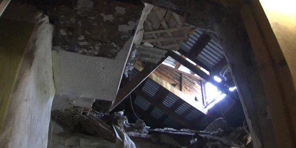 Общежитие в хуторе Ленина с обрушившимся потолком не было признано аварийным