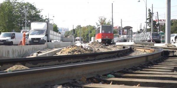 Первышов поручил ускорить поставку шпал для трамвайной линии в Краснодаре