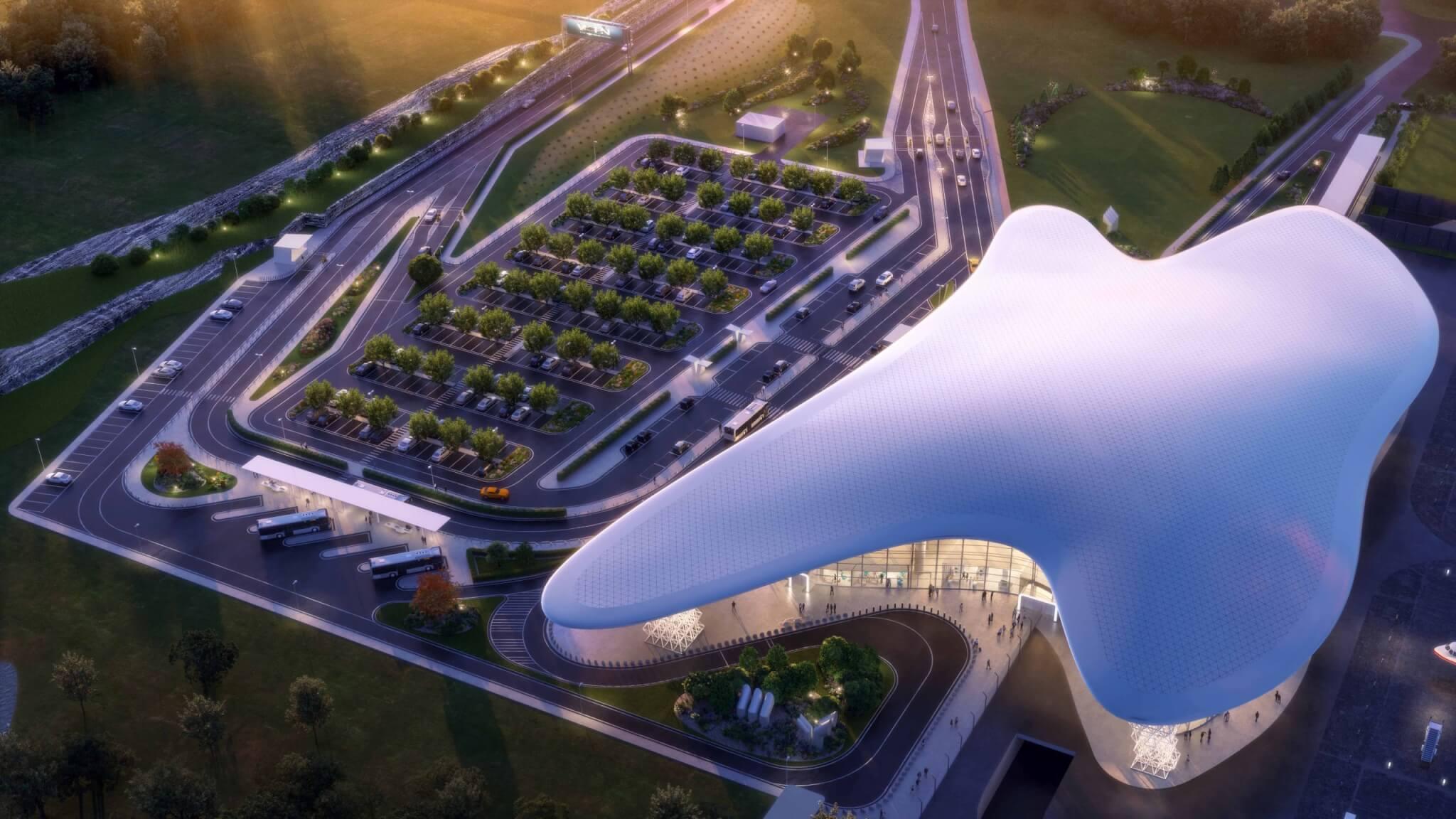 В Геленджике около нового терминала аэропорта создадут ландшафтный парк