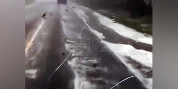 Метеорологи назвали типичной ситуацию с сильным градом в Лабинском районе