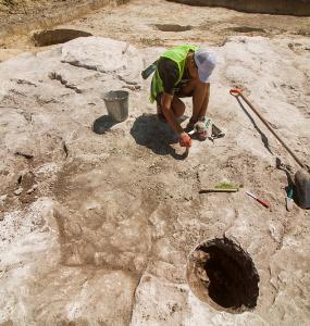 В Анапе во время реконструкции автодороги нашли античную каменоломню