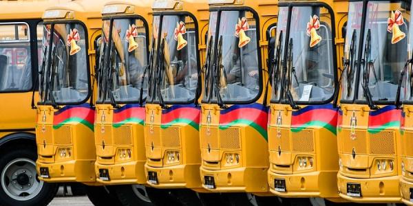 На Кубани школьный автопарк к 1 сентября пополнят 37 новых автобусов