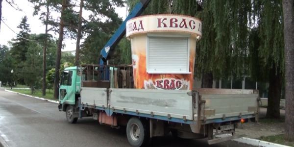 В Горячем Ключе выявили незаконные торговые точки