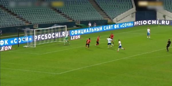 ФК «Сочи» завершил 4 тур РПЛ домашней победой над подмосковными «Химками»