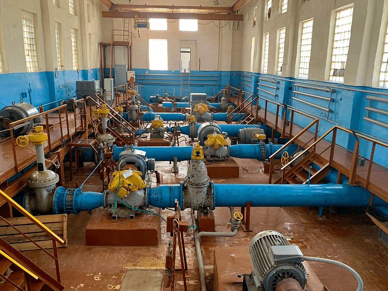 В Ейске капитально отремонтируют очистные канализационные сооружения