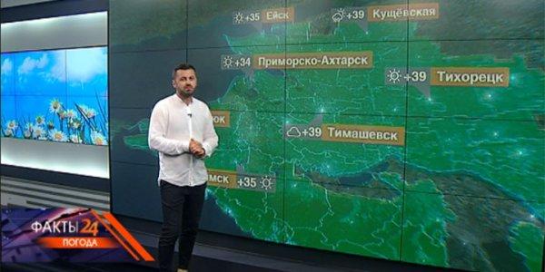 На Кубани 6 августа сохранится жаркая погода — до +37 °С