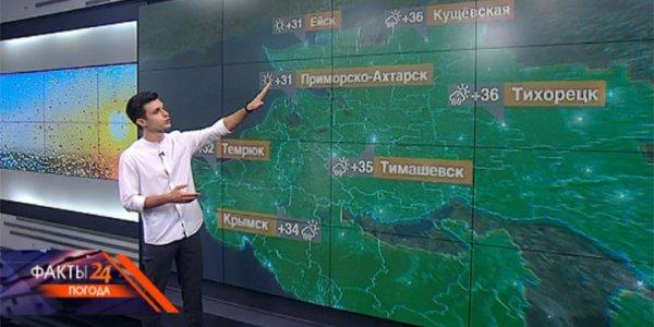 На Кубани 3 августа температура воздуха днем достигнет +40 °С
