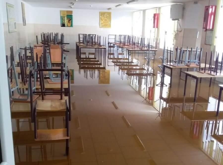 Из-за подтопления школа в Анапе и детсад под Туапсе не примут детей 1 сентября