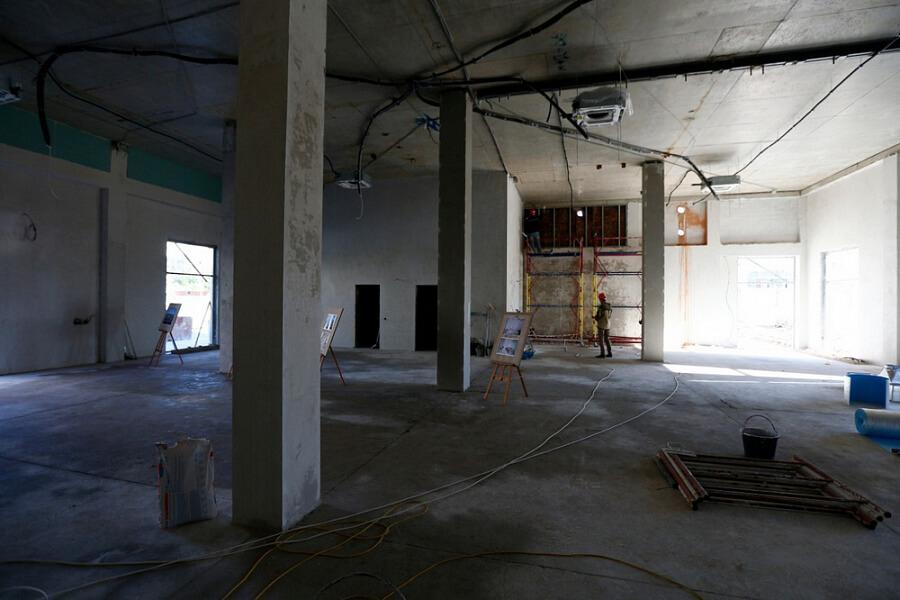 В Анапе новая школа на 1,1 тыс. мест готова на 45%