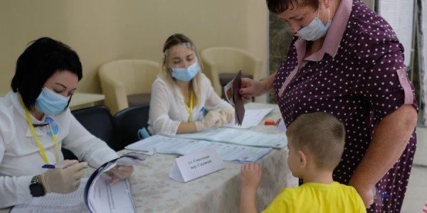 Жители Кубани приняли участие в голосовании на выборах. Фоторепортаж