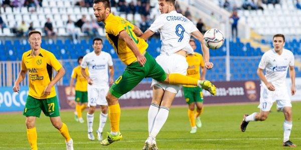 ПФК «Кубань» обыграл «Волгарь» на выезде со счетом 0:2
