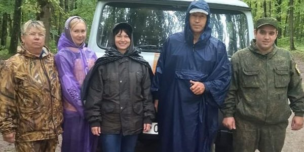 В Горячем Ключе спасатели вывели заблудившихся грибников из леса