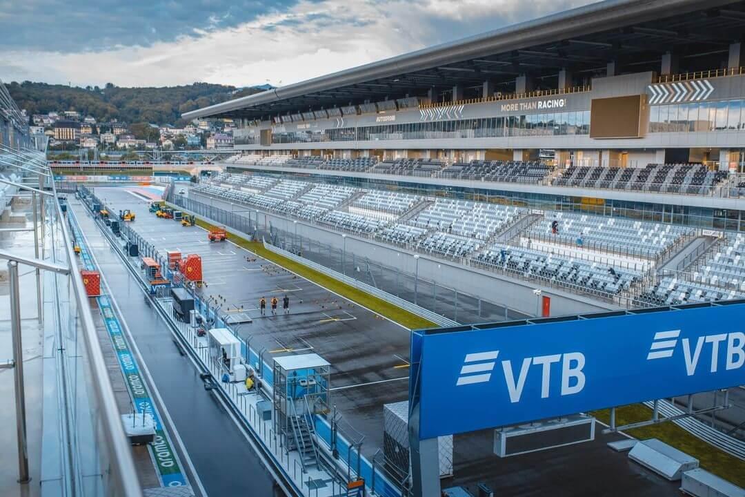 В Сочи из-за непогоды перенесли старт первой гонки этапа серии «Формулы-2»