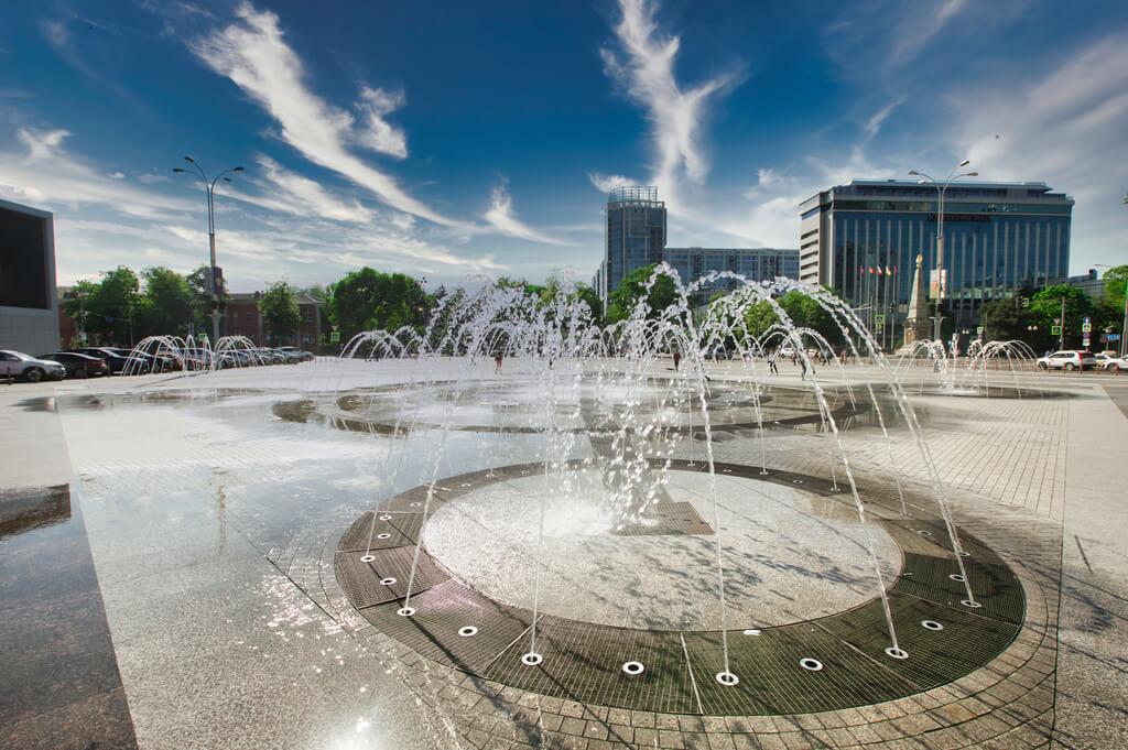 В Краснодаре главный фонтан исполнит музыку Римского-Корсакова