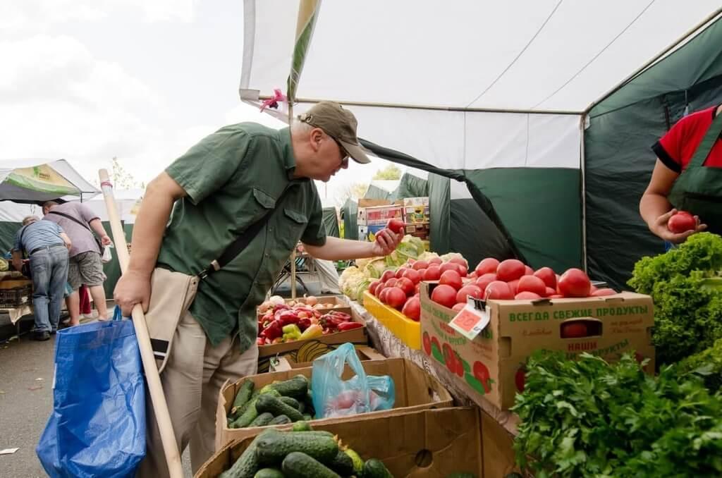 В Краснодаре фермеры привезли на ярмарки выходного дня 50 тонн продуктов