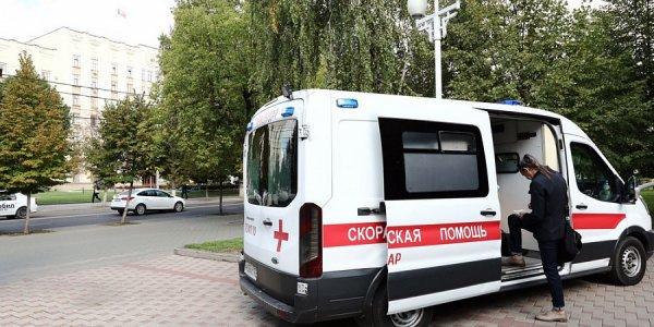 В Краснодаре начали работать мобильные пункты вакцинации от гриппа