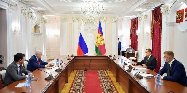 Вениамин Кондратьев и Сергей Миронов обсудили меры поддержки многодетных семей