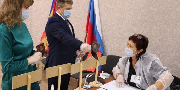 Вице-губернатор Кубани Александр Власов принял участие в голосовании