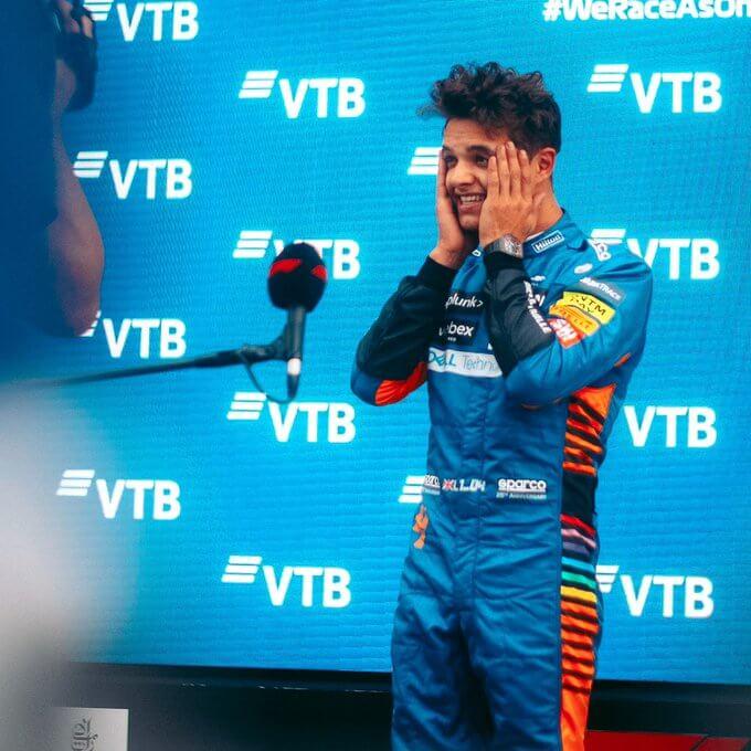 Британский пилот Норрис победил в квалификации этапа «Формулы-1» в Сочи
