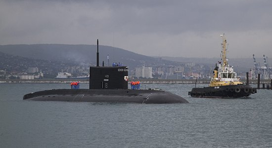 Подлодка «Старый Оскол» направилась из Сирии в Новороссийск