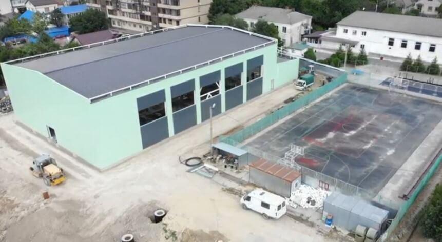 Спорткомплекс школы олимпийского резерва под Анапой построен на 44%